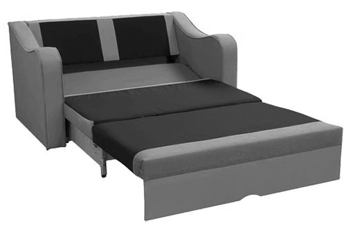 Hace cama. Pequeño sofá cama - Trieste