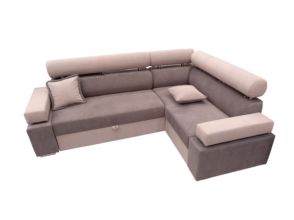 Modern Corner Sofa With Pull Out Bed And Storage U2013 Genoa
