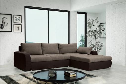Sofá chaise longue cama reversible - Quebec. Chaise longue al lado derecho