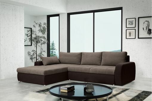 Sofá chaise longue cama reversible - Quebec. Chaise longue al lado izquierdo