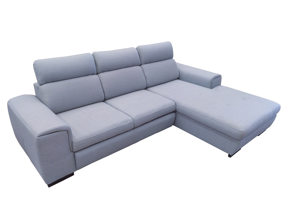 Chaise Longue Sofa Bed With Reclining Headrests Niagara