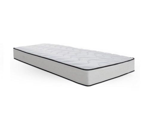 Colchón individual 90 x 190 cm con capa de viscoelástica - Somnie