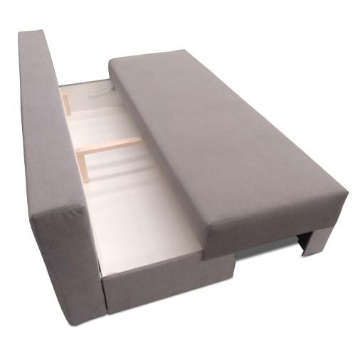 Отделение для хранения под сиденьем. Диван-кровать с боковыми подушками-подлокотниками - Lorca