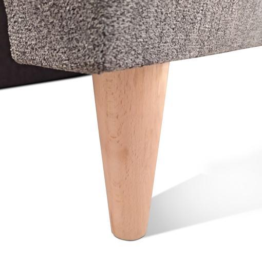 Ножки из дерева. Диван-кровать в скандинавском стиле - Halmstad