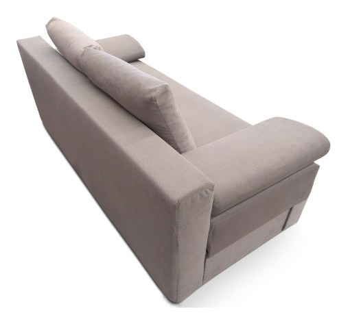 Outer Backrest Upholstery. Sofa Bed with Side Cushions (Armrests) - Lorca
