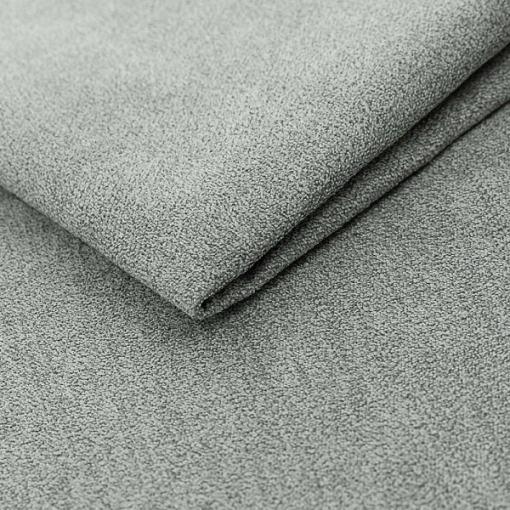 Tela de felpa microfibra de color gris claro del sofá modelo Halmstad