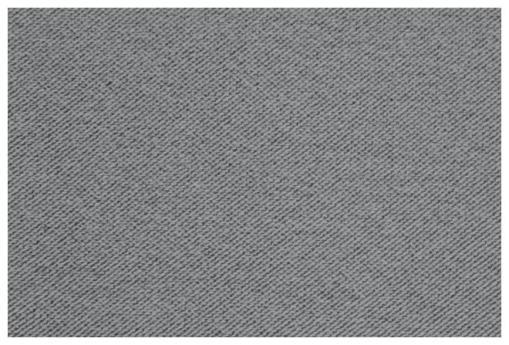 Tela microfibra de color gris claro del sofá Uppsala