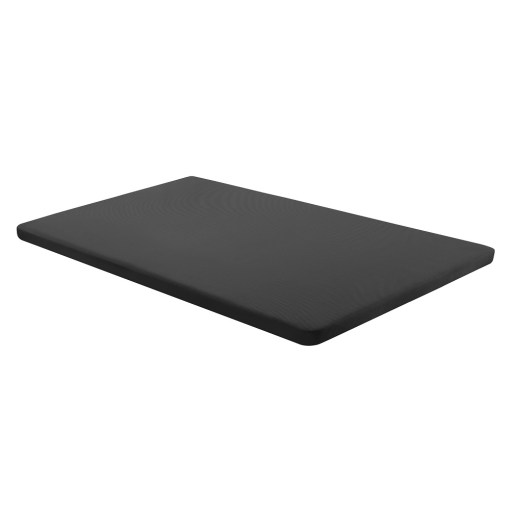 Base tapizada 105 x 190 cm, color negro, sin patas - Bazio