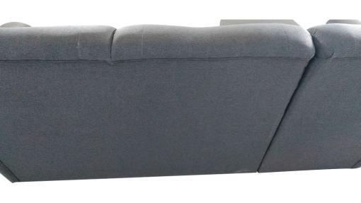 Outer Backrest Upholstery. Chaise Longue Sofa Bed with High Backrest - Parma
