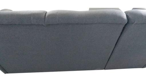 Respaldo tapizado detras. Sofá chaise longue cama alto respaldo con arcón - Parma
