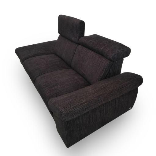 Reposacabezas reclinables. Sofá 2 plazas relax - Hugo