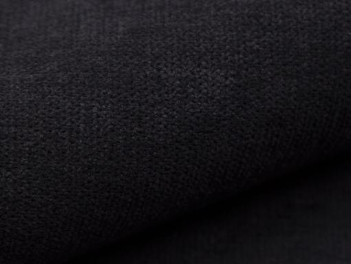 Tela color negro (Rico 13). Sofá cama Lorca