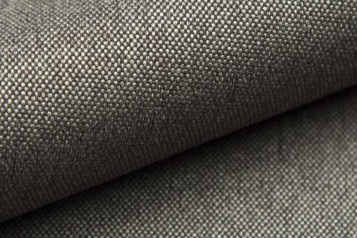 Tela sintética resistente color gris claro. Sofá Parma