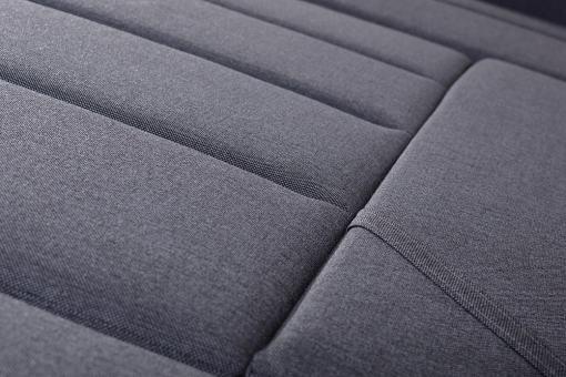 Asiento cómodo con muelles del sofá pequeño en forma de U modelo Bora