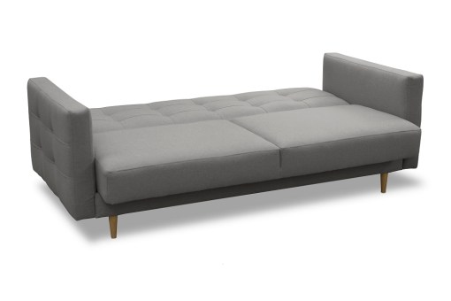 Sofa Unfolded Into Bed. Scandinavian Style Sofa Bed - Karlstad
