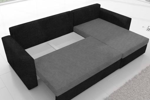 Under Seat Storage of the Derby Sofa