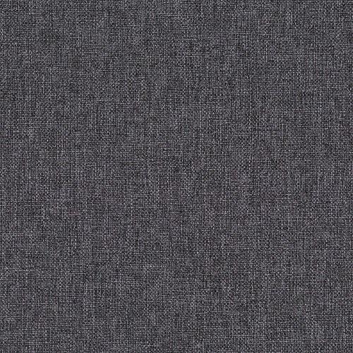 Серая ткань компактного углового дивана-кровати York