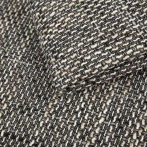 Tela de color marrón del sofá en U económico modelo Bristol
