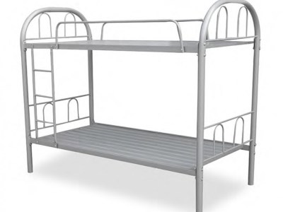 Metal Bunk Bed (Single Over Single) 90 x 190 cm - Bergamo