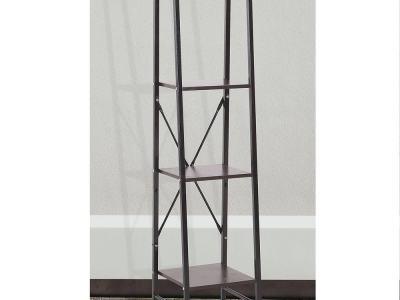 Narrow Open Display Metal Shelving Unit (Width 34 cm) - San Francisco