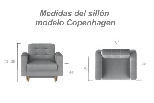 Dimensions of the Copenhagen Armchair