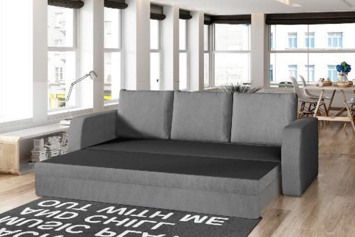 Modo cama. Sofá cama de 3 plazas para espacios reducidos - Liverpool