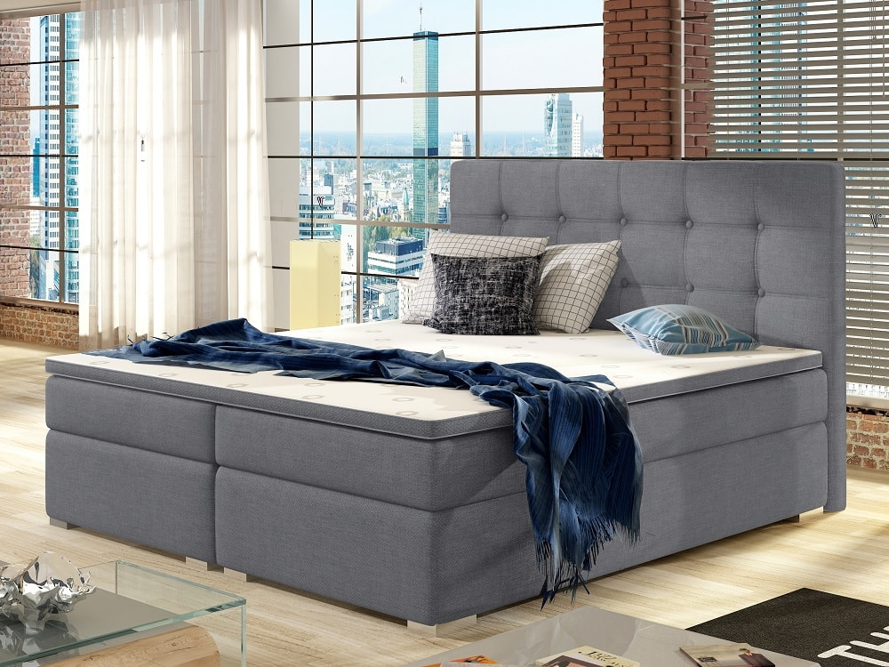 Topper 180x200 Boxspring.Super King Size Box Spring Bed With Mattress 180 X 200