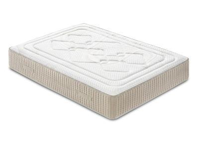 Double Memory Foam Mattress with High Resiliency Foam Core, 135 x 190 cm - Viscoalto