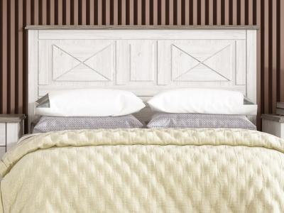 French Rustic Style Double Bed Headboard – Provence