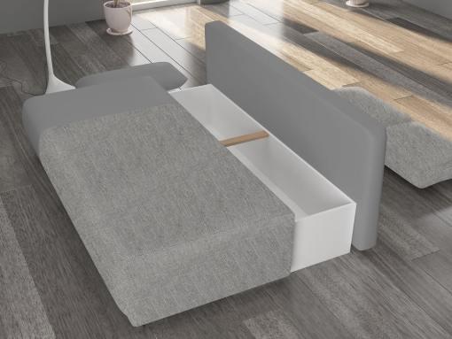 Arcón bajo asiento del sofá cama de 2 metros modelo Salford
