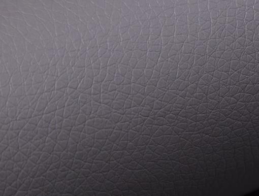 Piel sintética de color gris del sofá modelo Reims