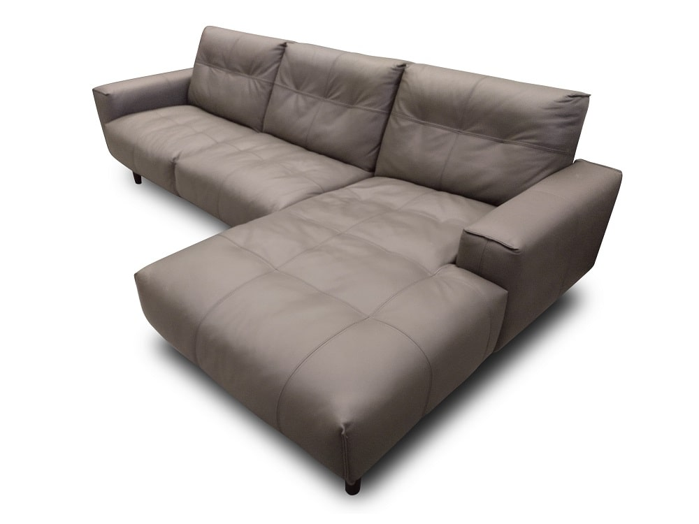 Cool Chaise Longue Sofa Upholstered In Leather Denver Don Baraton Dailytribune Chair Design For Home Dailytribuneorg