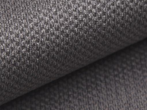 Tela color gris del sofá modelo Reims
