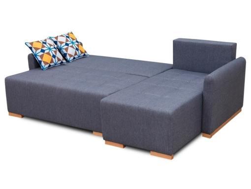 Modo cama. Sofá chaise longue (derecho) modelo Corsica