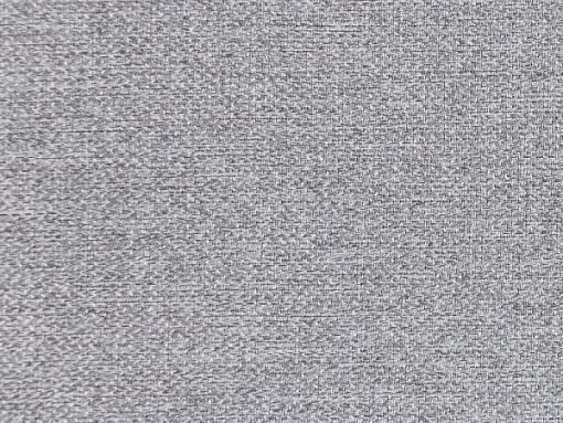 Tela color gris claro. Conjunto de 2 sillones y un sofá cama con patas de madera y arcón - Monaco