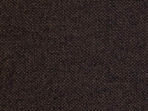 Tela color marrón oscuro. Sofá chaise longue cama con arcón modelo Corsica