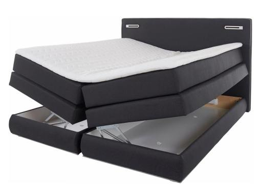 2 Storage compartments of the Martina bed