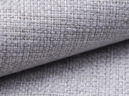 Tela color gris claro del sofá modelo Reims