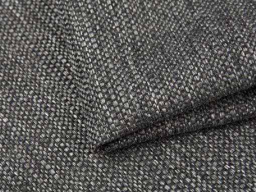 Tela imitación lino, color gris del sofá chaise longue modelo Richmond
