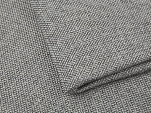 Tela sintética resistente color gris claro del sofá 8 plazas modelo Chessy