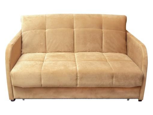 Sofá cama pequeño de 2 plazas - Mons. Tela beige