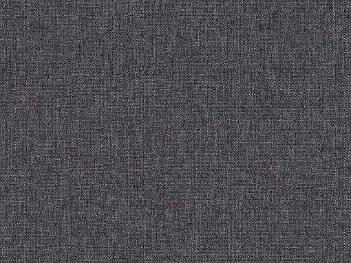 Tela gris de la cama de matrimonio modelo Emilia