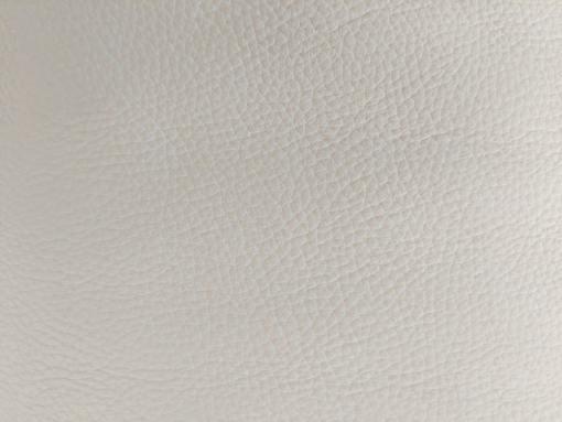 Piel auténtica color blanco del sofá modelo Wels