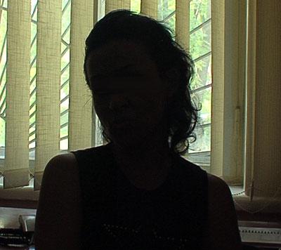 20-летняя Татьяна дает показания.