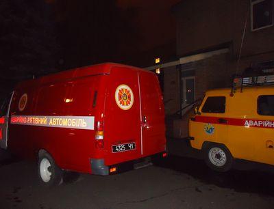 В Донецке произошел взрыв в Железнодорожной больнице.