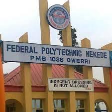 Federal Polytechnic Nekede Owerri post utme