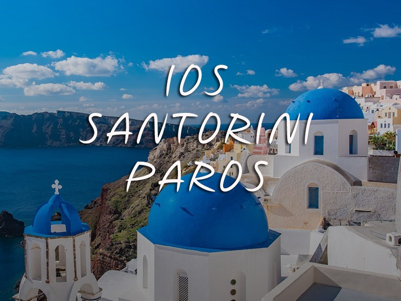 Private Cruise to Ios - Santorini - Paros from Mykonos | Donblue.gr