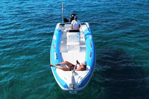 Mykonos Private RIB Boat for rent - Don Blue Yachting - Proteas Marvel