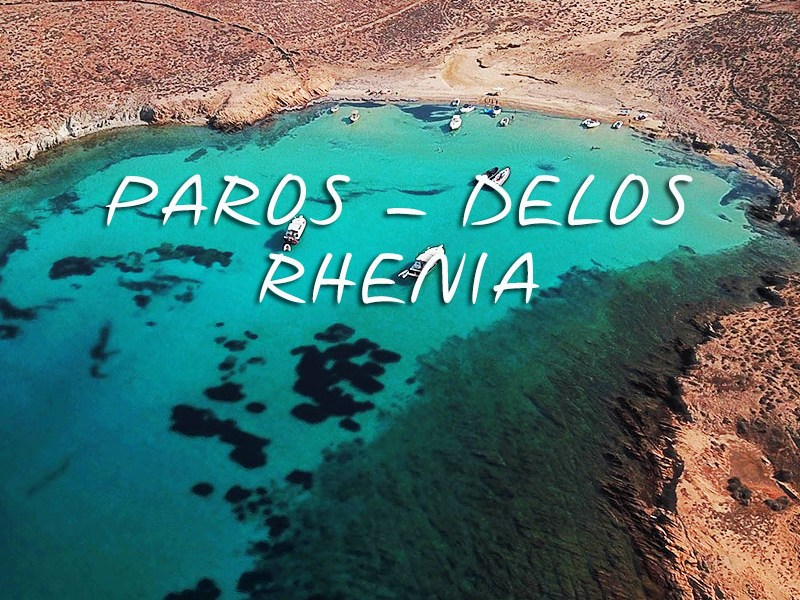 Private Day Cruise from Paros to Delos - Rhenia | Don Blue RIB boat rentals