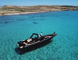 Private Day Cruise from Paros to Koufonisia - Schinousa - Heraklia | Don Blue RIB boat rentals